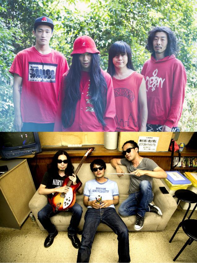 GEZAN / LOSTAGE split 7inchアナログ発売&リリースツアー決定